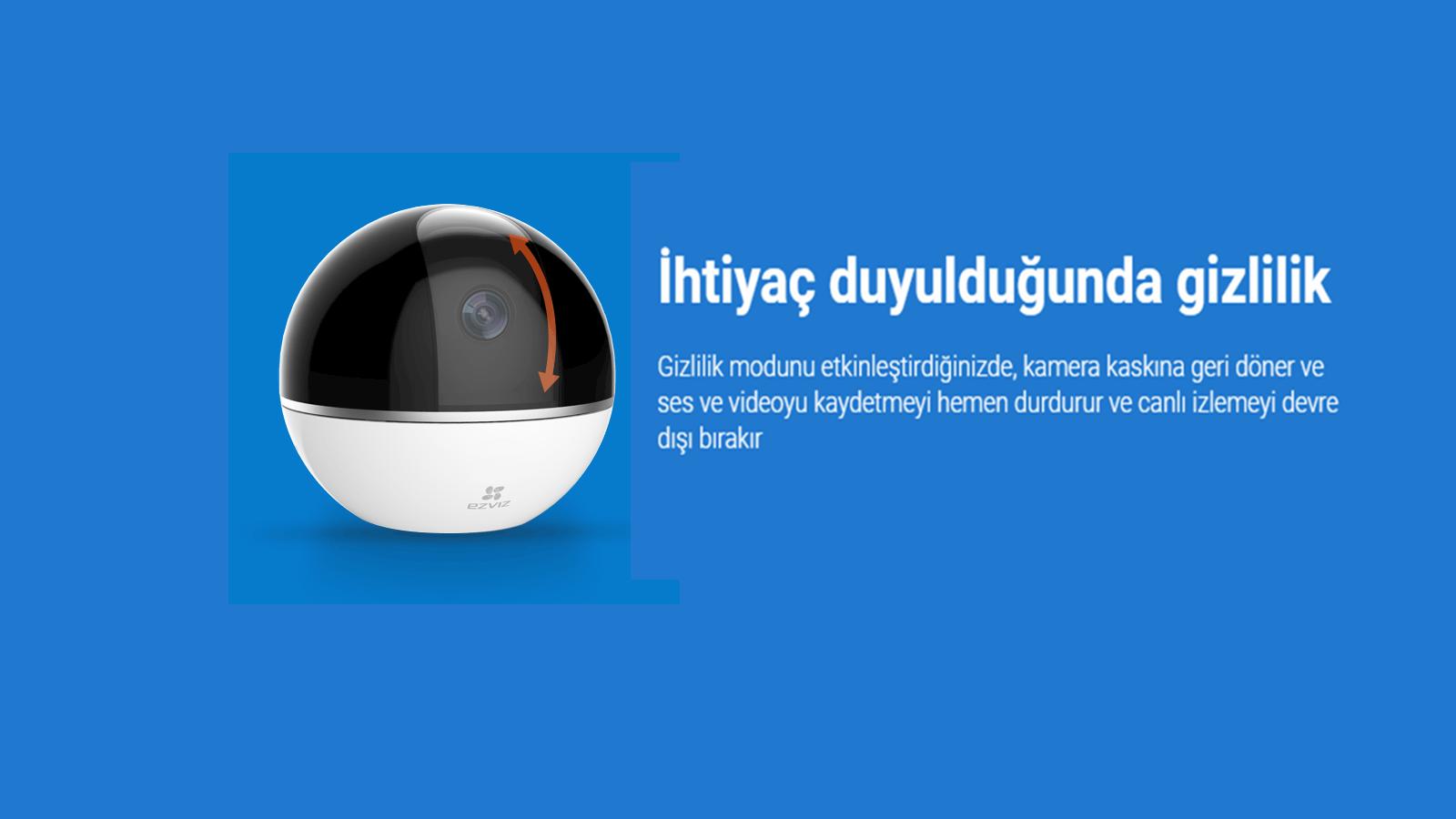 EZVIZ Mini 360 Plus 1080p HD Pan/Tilt/Zoom Kamera