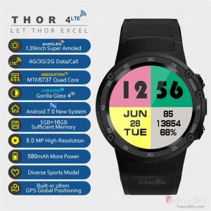 Zeblaze Thor Pro 4 4G LTE Akıllı Saat Türkiye Satış Destek