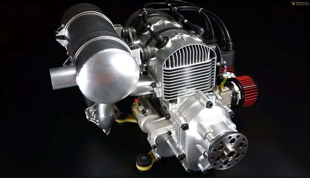 DLE 430 430CC Benzinli Motor Paramotor Delta kanat