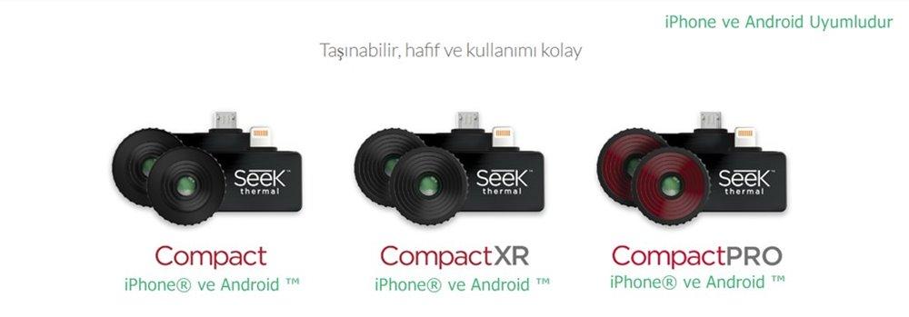 Seek Termal Kamera CompactPRO Compact CompactXR Türkiye