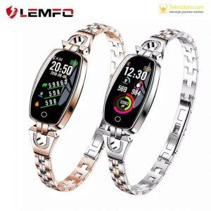 Lemfo H8 Bayan Smartwatch Aklıllı Kol Saati