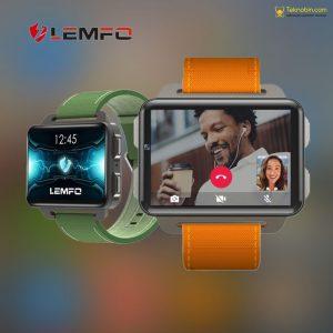 Lemfo Lem4 Pro Akıllı Saat 2.2 İnç Büyük Ekranlı