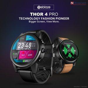 Zeblaze THOR 4 PRO 4G Akıllı Saat + Telefon