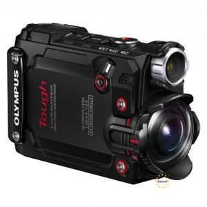 Olympus Tg-Tracker Aksiyon Kamerası İki Renk siyah Yeşil