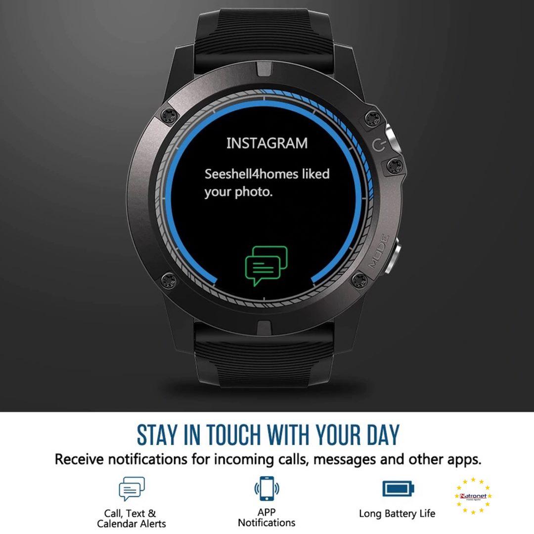 Zeblaze VIBE 3 PRO Dokunmatik Renkli Ekran Spor Akıllı Saat