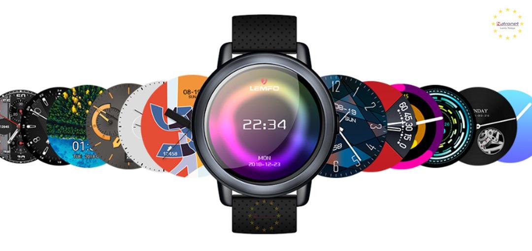 LEMFO LEM8 Sim Kartlı Akıllı Saat Android 7.1 LTE 4G WİFİ