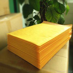 Toptan 50 Adet Küçük Orta Boy Kraft torba hava yastıklı zarflar