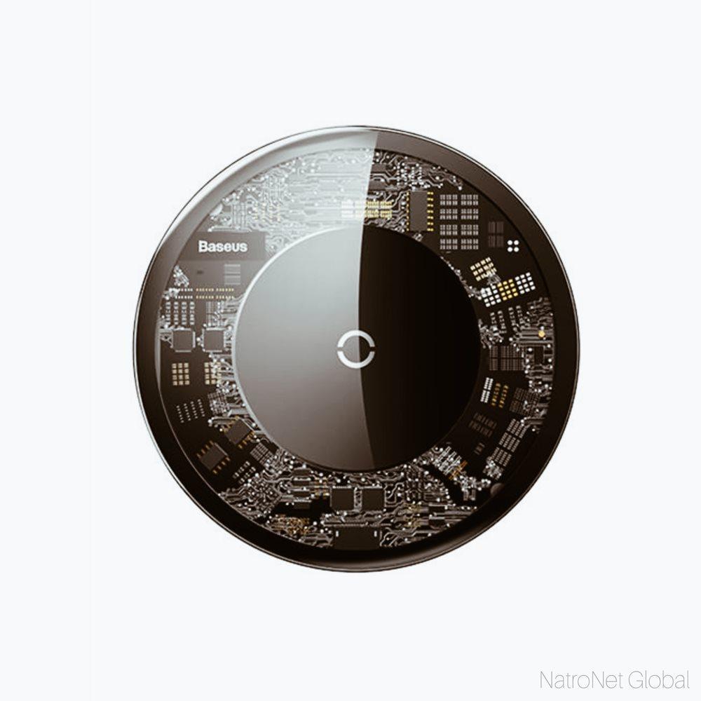 Baseus Qİ Wiraless Kristal Kablosuz Hızlı Şarj Aleti