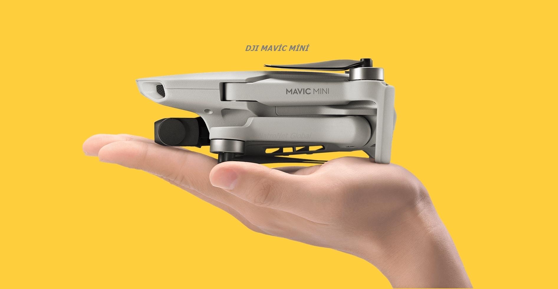 Dji mavic mini drone natronet global stoklarında