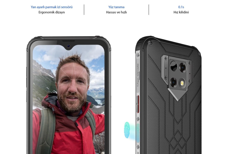 Blackview BV9800 Pro 6.3 İnç Termal Kameralı 4G Zırhlı Akıllı Telefon