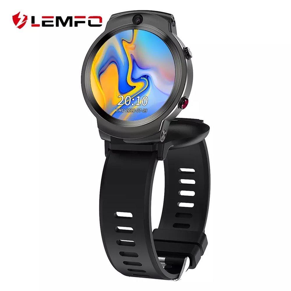 Lemfo Lem13 360 Derece Dönebilen Ekrana Sahip Sim Kartlı Akıllı Saat
