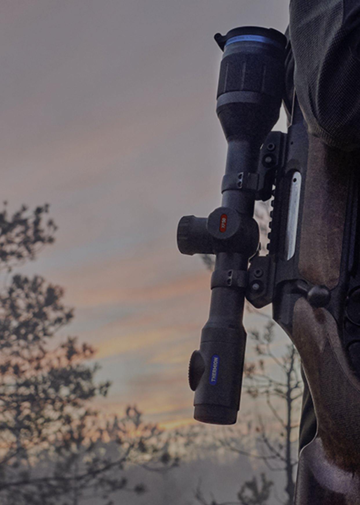 Pulsar XP50 Thermion Termal Tüfek Dürbünü Gerçek Üstün Termal