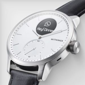 Withings ScanWatch EKG Nabız ve Oksimetre özellikli Hibrit Akıllı Saat