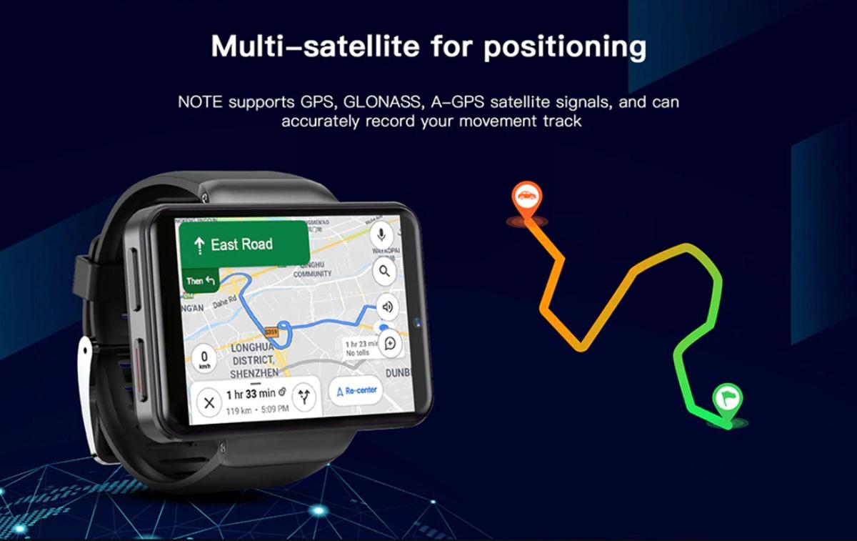 Kospet Note Android Sim Kartlı Büyük Ekranlı Akıllı Saat