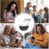 EZVIZ WLAN IP kamera dış mekan 1080p FHD, 100ft gece görüşü, KI-kişi algılama Pan Tilt ve SD kart