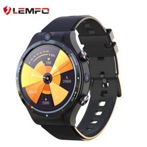LEMFO LEM15 4G Android 10.7 Helio P22 çip 4GB 128GB LTE Akıllı Saat