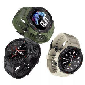 LEMFO K22 Bluetooth çağrı spor Smartwatch Android İOS uyumlu 400mAh batarya